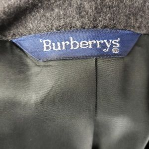 Burberry Suits & Blazers - Burberry 100% Grey Cashmere Jacket 42R